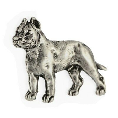 Cane Corso (body), silver covered pin, high qauality Art Dog UK