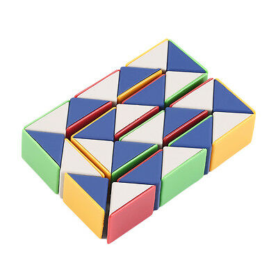 Snake Magic 3D Cube Game Puzzle Twist Toy Party Travel Family Child Gift BT