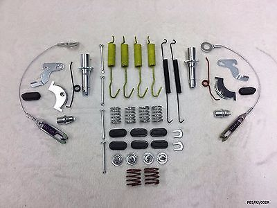 Rear Brake Shoes Large Repair KIT Jeep Cherokee (Liberty) 2002 DRUM PBS/KJ/002A