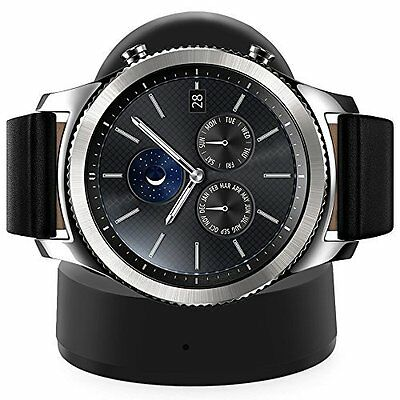 Samsung Gear S3 Frontier Classic Wireless Charger Charging Dock USB Cable New
