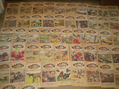1932 full year Rustica Vintage French countryside magazine gardening etc x 52