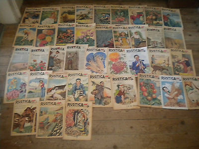 39 issues Rustica Vintage French countryside magazine gardening etc 1940s