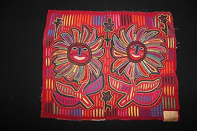 Happy/Drunk Flowers Mola - Kit Kapp Collection 1960s