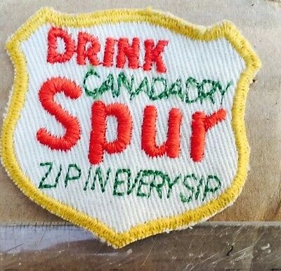 Rare Vintage SPUR CANADA DRY Patch