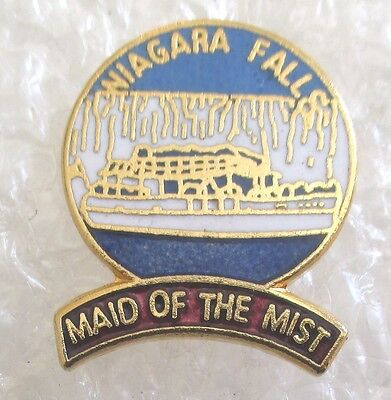 Niagara Falls-Maid of the Mist Tourist Travel Souvenir Collector Pin-New York
