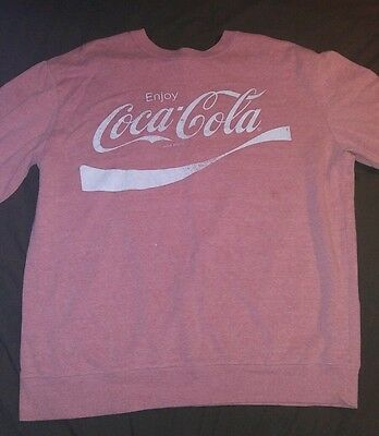 Coca Cola Sweatshirt sz XL