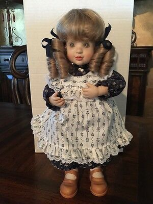 """Anri, """"Charlotte"""" by Sarah Kay a Limited Edition Wood Doll"""