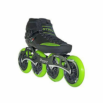 Inline Competitive Speed Skates - Luigino Strut Package - Black