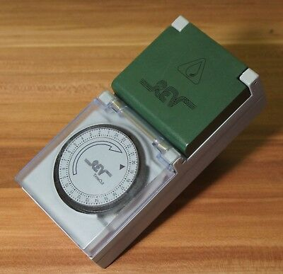 Outdoor Timer Zeitschaltuhr REV Timeout 24 Hours time switch TS-MD4 TOP!