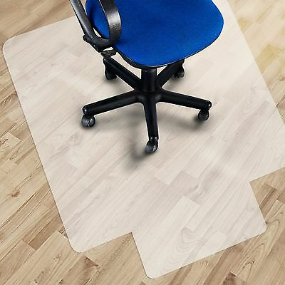 "Office Marshal Polypropylene Chair Mat with Lip for Hard Floors - 30""x48"" 