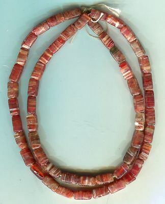 African Trade beads Vintage Czech Bohemian glass pressed glass beads nice