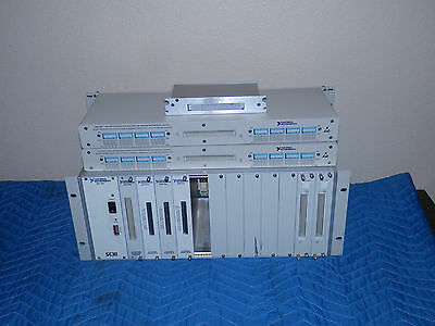 National Instruments SCXI-1001 Chassis with 1100 1303 1161 & 1102 Modules