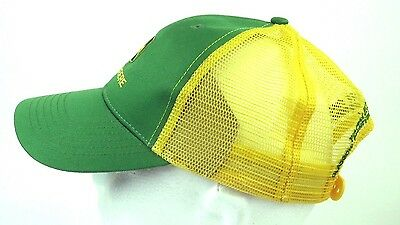 John Deere Snapback Baseball Cap Nylon Mesh NWT Circle Montana Farm Equipment