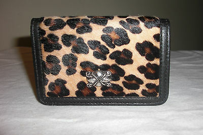 Streets Ahead Fur Genuine Leather* Credit Card ID Business Card Holder Wallet