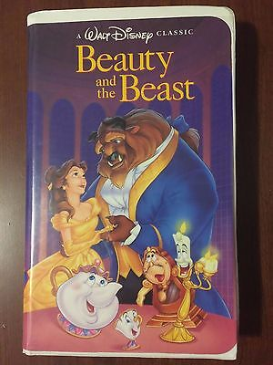 Rare Beauty and the Beast (VHS,1992) Black Diamond Edition