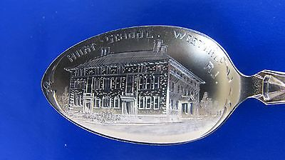 Westerly High School Rhode Island Sterling Silver Souvenir Spoon