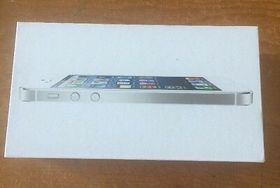 iPhone 5 White Box Only And Quick Start Guide 16 GB