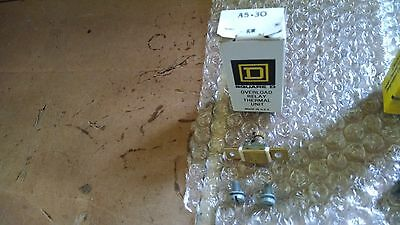 Square D Overload Relay Thermal Unit New Old Stock A5 30