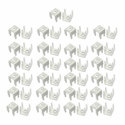 50pcs PCB-11 M3 Thread PCB Soldering Snap in Screw Terminal Block Terminals Only