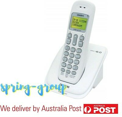 Cordless Phone Home Telephone Uniden Wi Fi Friendly Wall Mountable LCD Display
