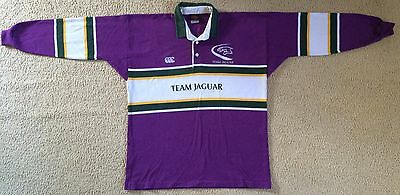 Team Jaguar Racing Team Jersey Shirt Canterbury Made in Australia Mens XL VGC