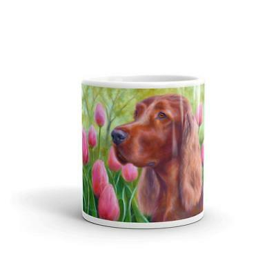 """Irish Bouquet"" Irish Setter 11oz Coffee Mug"