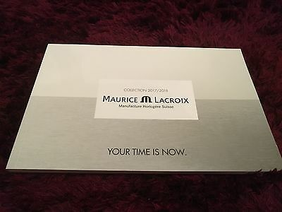Maurice Lacroix Watch Catalogue 2016 / 2017 - ENGLISH