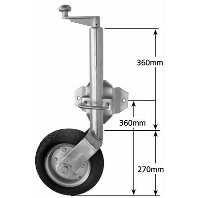 Couplemate Heavy Duty Jockey Wheel (1000kg)