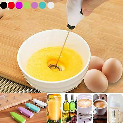 Portable Drinks Milk Frother Foamer Whisk Mixer Stirrer Egg Beater Electric Tool