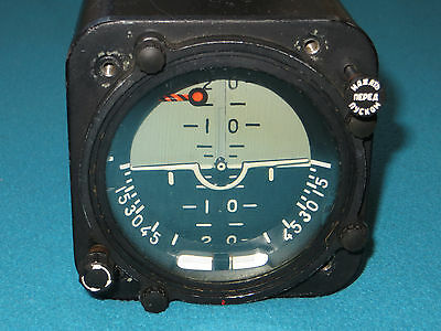 Russian Aircraft & Helicopter Instrument Attitude Gyro Horizon Indicator AGB-3K