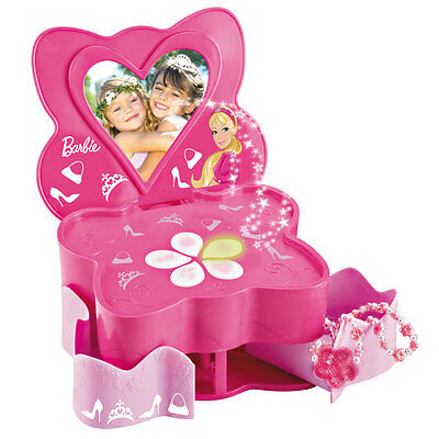 Barbie Character Magic Secret Electronic Box Pink With Light And Sounds Effect