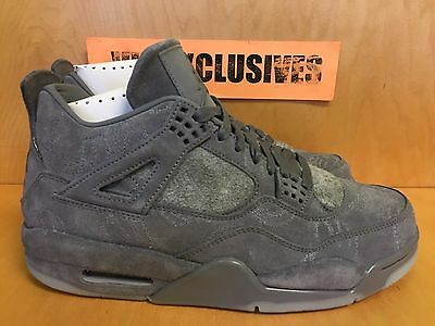 brand new d6544 2437e Nike Air Jordan IV Retro 4 x Kaws Cool Grey 930155-003 SZ 8-
