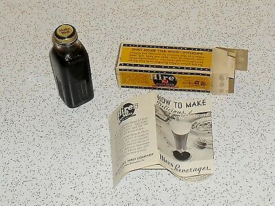 Vintage Hires Rootbeer concentrate extract 3 oz. household formula