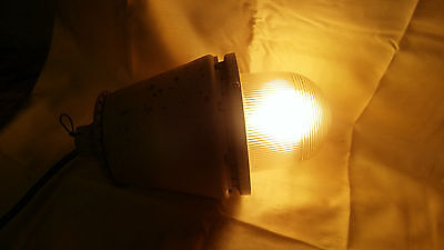 Industrial Appleton A-51 Series Explosion Proof Light Lamp Fixture Vintage