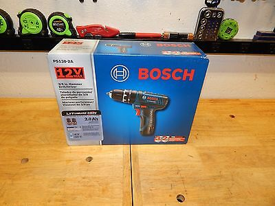 Bosch PS130-2A 12-Volt 3/8-Inch Max Fuel Guage Ultra-Compact Hammer Drill Kit