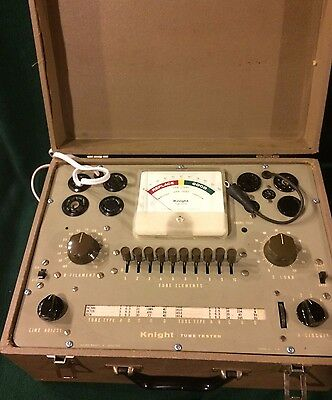 Knight Tube Tester  Allied Radio  Good Condition
