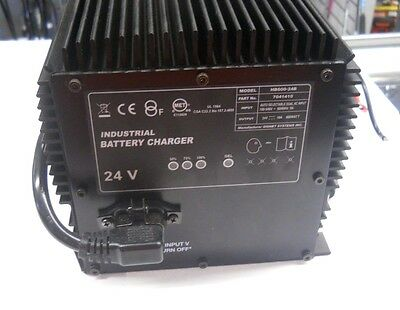 Industrial 24 Volt Battery Charger **NEW**NR