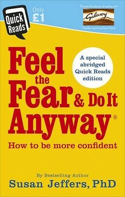 Feel The Fear And Do It Anyway Quick Reads NEW PB Book Self Help Susan Jeffers