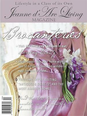 ARRIVED I'M SHIPPING NOW APRIL 2017 Jeanne d'Arc Living MAGAZINE 4 Vintage/Style
