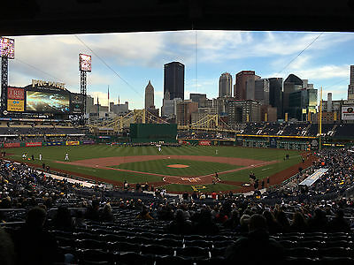 Pittsburgh Pirates vs New York Yankees (2) Tickets on 4/21/17