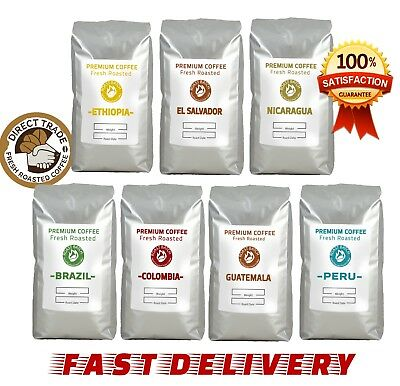 1kg Coffee Beans High Grade Pure ARABICA *ONLY FROM £9.99* Roasted to Order