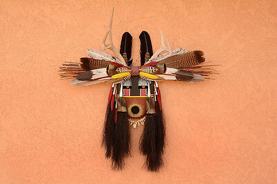 Native American Spirit Mask by Robert Crying Red Bear- The Old One
