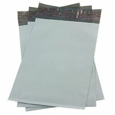 """100 White Poly Mailers Shipping Envelopes Self Sealing Bags 10""""x13"""""""