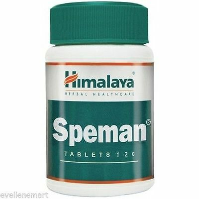 Himalaya Herbal, Speman X120 Tablets, Men Health, improves sperm count & quality
