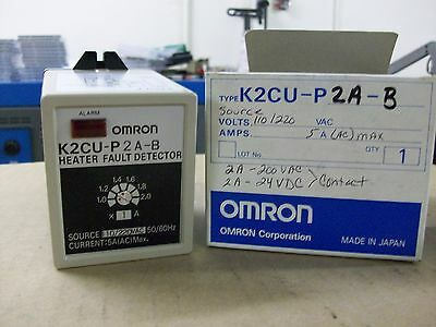 Omron   K2Cu-P2A-B   Heater Fault Detector