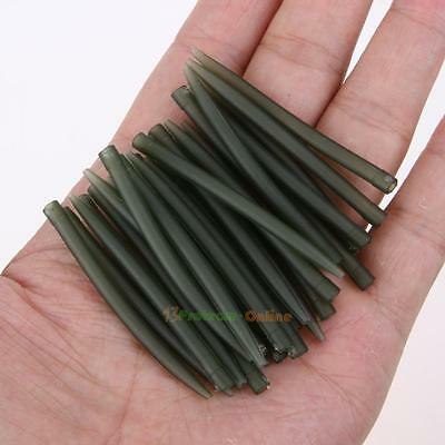 100 x Terminal Carp Fishing Anti Tangle Sleeves Connect With Fishing Hook Sleeve