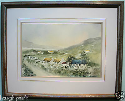 Original Watercolour Painting Art DONEGAL TO MALIN HEAD IRELAND by Irish Artist