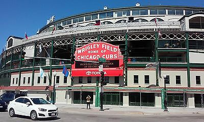 2 Chicago Cubs Home Opener (4/10/17) Tickets at Wrigley Field