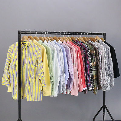 WHOLESALE VINTAGE SHIRTS JOBLOT Womens Ralph Lauren & Tommy Hilfiger X10 BND55