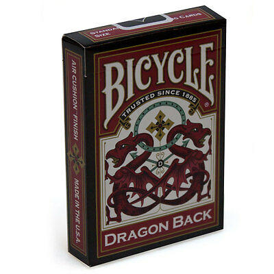 Dragon Back - Bicycle Playing Cards - Australia only